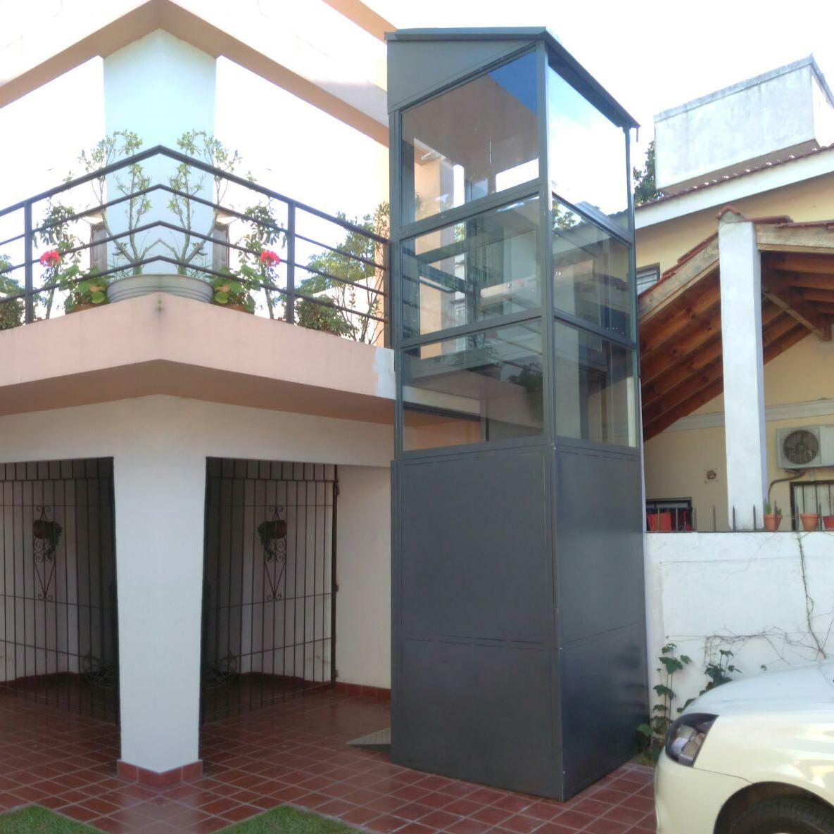 Ascensor residencial hidráulico