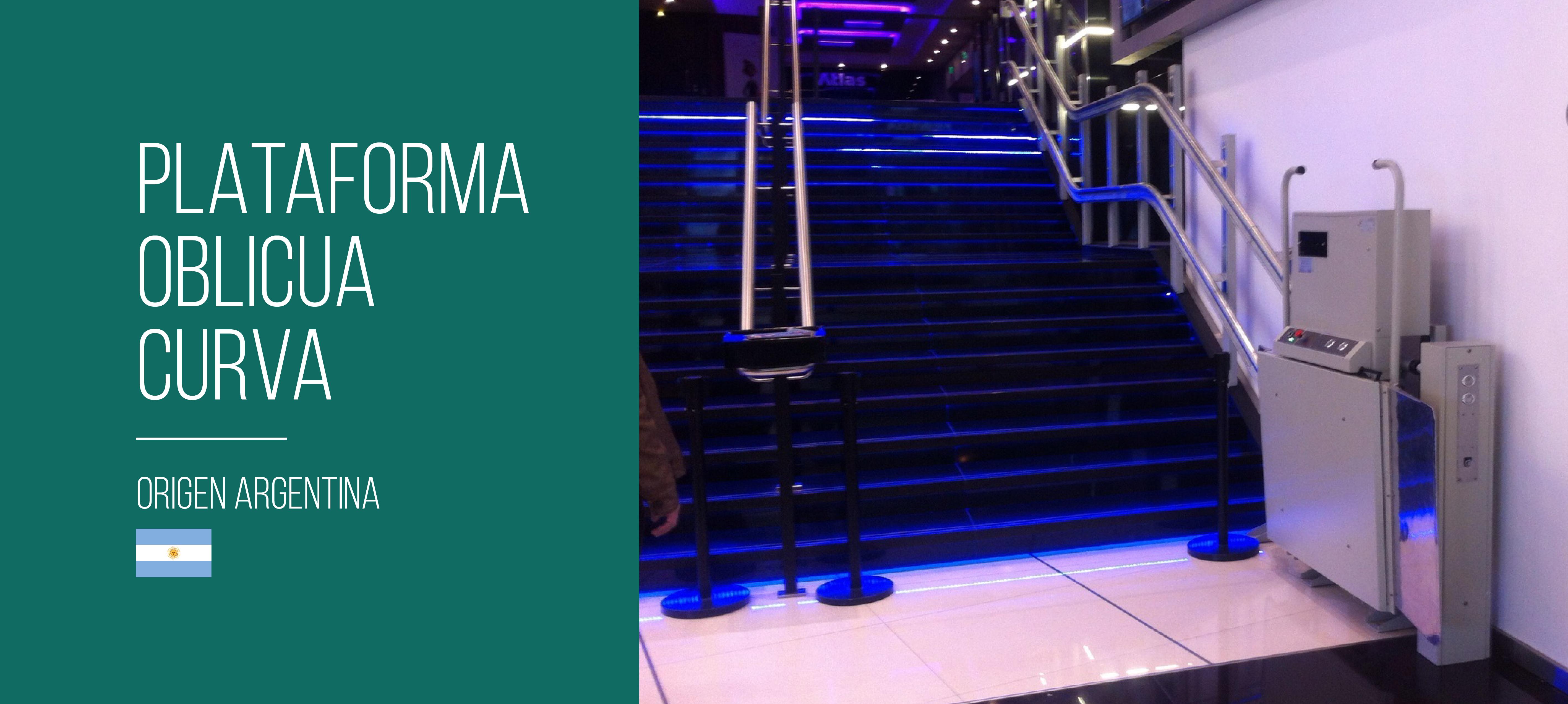Plataforma Oblicua Curva TVE