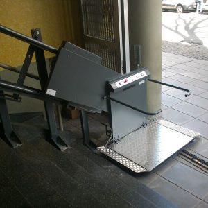Plataforma Oblicua Recta Línea Municipal